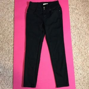 Between Us black stretch jeans